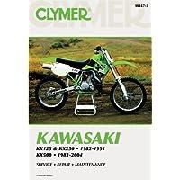 Kawasaki KX125 & KX250 1982-1991, KX500 1983-2004