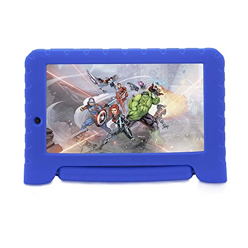 "Tablet Disney Vingadores Plus Wi-Fi Android Dual Câmera, Multilaser, NB280, 8 GB, 7"", Azul"