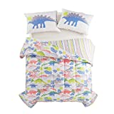 Heritage Kids Dino Roar Bed in a Bag, Multi, Full