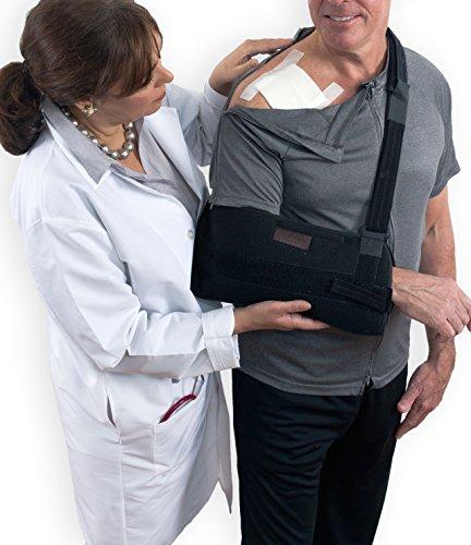 Reboundwear Mens Short Sleeve Jim Tee - Post Surgery Clothing Adaptive Apparel