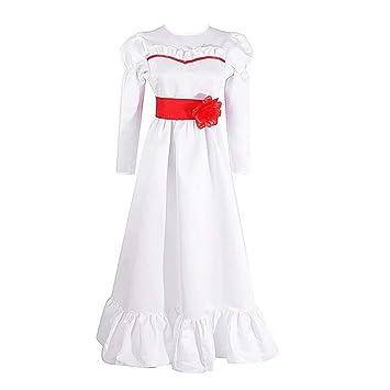 Annabelle Disfraz de Cosplay Disfraz de Halloween Horror Scary ...
