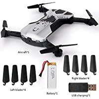 Wenasi Mobile Phone Gravity Sensing Remote Control Fold-able Aerial Four - axis Aircraft(White)