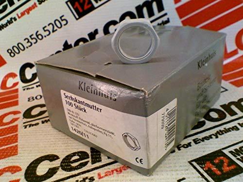 KLEINHUIS 1420/11 (Price/PK 100) - PVC LOCKNUT- PG 11