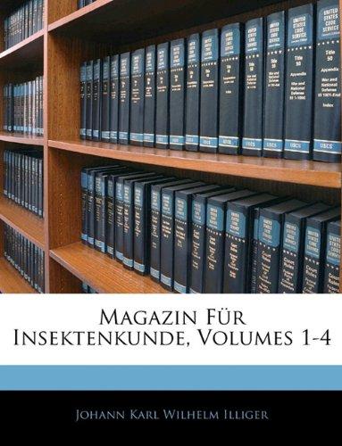 Read Online Magazin Für Insektenkunde (German Edition) PDF