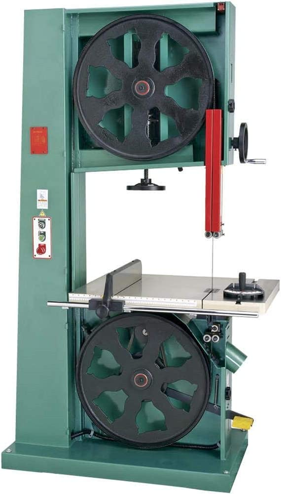 Grizzly Industrial G0569-24 7-1//2 HP 3-Phase Industrial Bandsaw