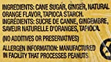 Chimes Orange Ginger Chews, 80 Ounce
