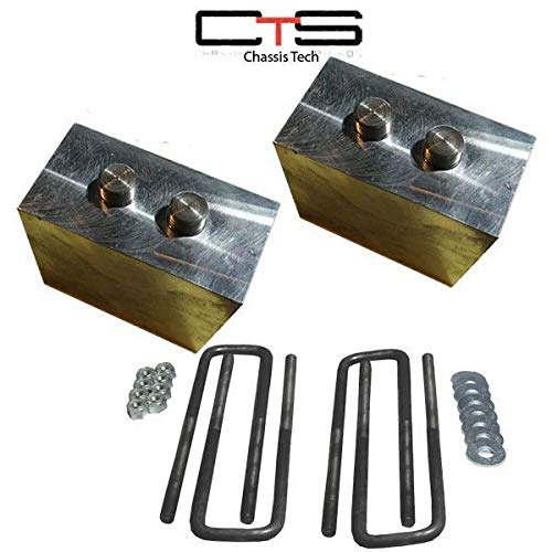 Chassis Tech X2-BLO-5F Lift Blocks 2004+F150 Only 3'' CNC Machined by Chassis Tech