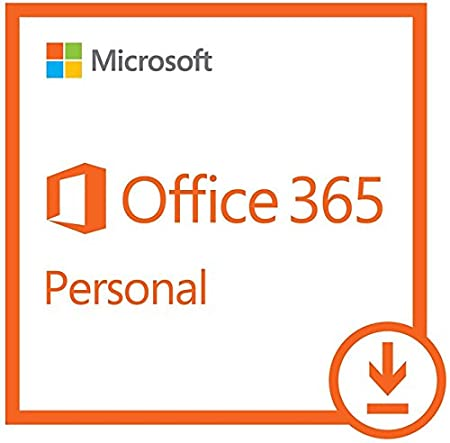 Microsoft Office 365 Personal | 12-month subscription with Auto-renewal, 1 user, PC/Mac Download