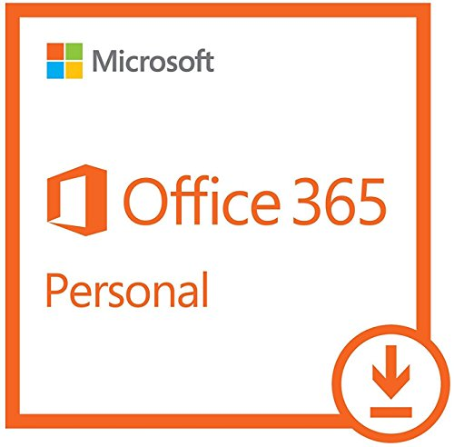 Microsoft Office 365 Personal |1 Year Subscription | with Auto-renewal, 1 user, PC/Mac Download