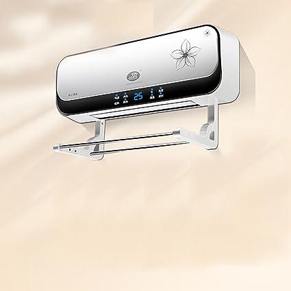 CAICOLORFUL Calentador Eléctrico PTC Calefacción De Cerámica Tapiz Baño Dormitorio Doble Uso A Prueba De Agua