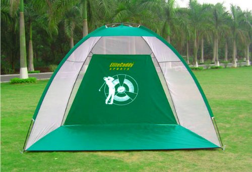 3 in 1 GOLF PRACTICE NET HITTING CAGE + DRIVING MAT TRAINING AID