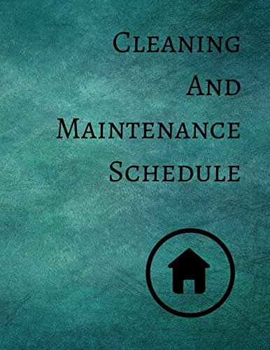 Cleaning And Maintenance Schedule pdf epub