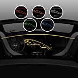 2013-2018 Jaguar F-Type Convertible Windblocker - Control air flow, cut down backdraft, wind noise - Patented Easy Install, Secure Mounting - Laser-Etched Design - Amber Lighting