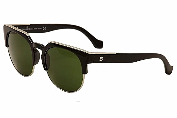 6bb126511d Sunglasses Balenciaga BA 21 BA0021 01B shiny black   gradient smoke ...