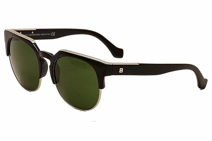 ff12301905 Sunglasses Balenciaga BA 21 BA0021 01B shiny black   gradient smoke at  Amazon Men s Clothing store