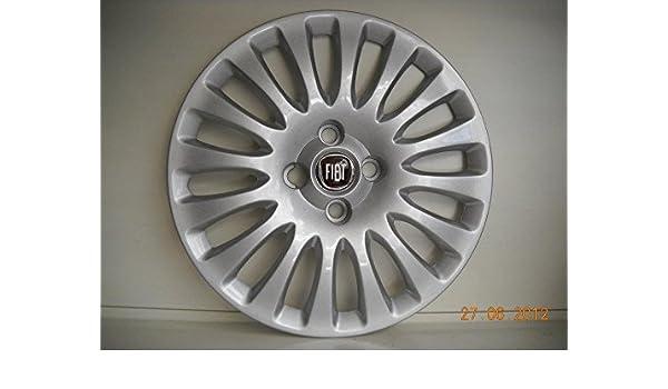 Juego de Tapacubos 4 Tapacubos Diseño Evo Desde 2009 Fiat Punto r 15: Amazon.es: Coche y moto