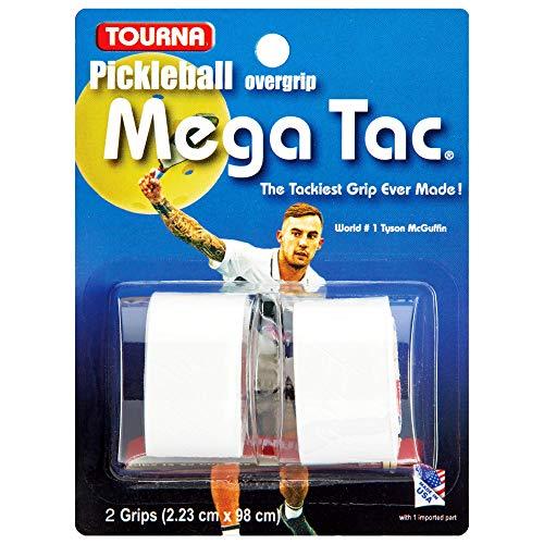 Tourna Pickleball Mega Tac Overgrip, White
