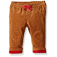 Gymboree Baby Tan Quilted Knee Cord Pant, Tan, 3-6 Months