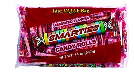 Amazon.com : Smarties Candy Rolls, 12 Ounce (Pack of 24) : Hard ...