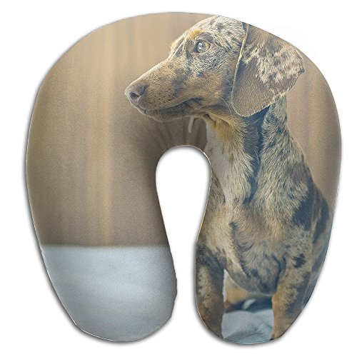 Memory Foam Neck Pillow Cushion Dog Animals Comfy Soft U-Shape Cervical Pillow Head Support For Travel Office Home Sleeping