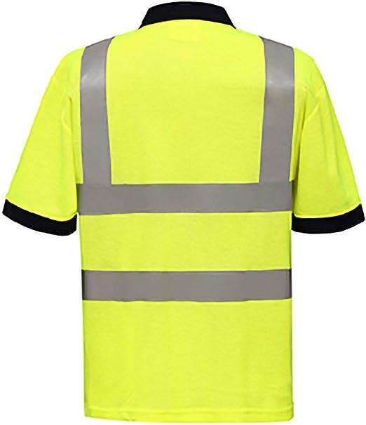 Yoko - Polo/Camiseta/Camisa de Seguridad de Alta Visibilidad ...
