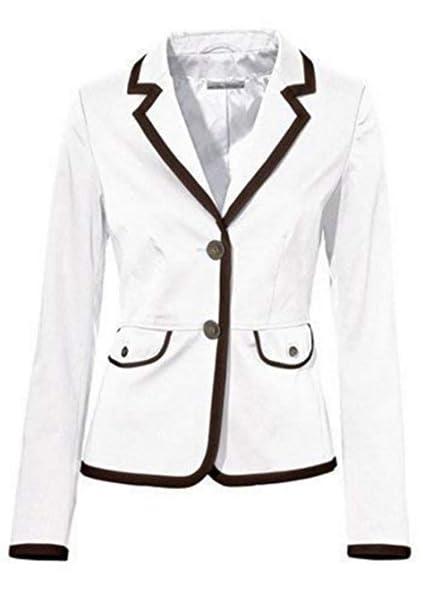 premium selection 6394f 444ef Ashley Brooke Blazer Short Blazer White Taupe - White Taupe, 40