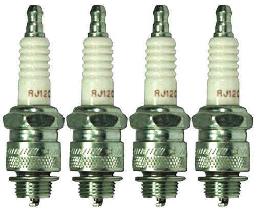 Champion RJ12C Pack of 4 Copper Plus Small Engine Spark Plug