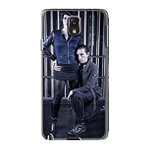 Perfect Hard Cell-phone Cases For Samsung Galaxy Note3 With Customized Stylish Macbeth Band Skin SherriFakhry
