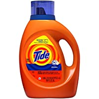 Tide HE Turbo Clean Liquid Laundry Detergent (Original Scent, 100 oz, 64 Loads)