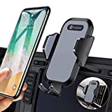 Ultra Stable Car Phone Mount, VICSEED CD Slot & Air Vent Cell Phone Holder for Car, No Blocking of View CD Player Phone Mount Fit for iPhone Xs Max Xr X 8 7 6 Plus, Galaxy S10 S9+ Note10 LG Pixel etc.