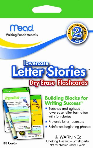 Mead Lowercase Letter Stories Erase