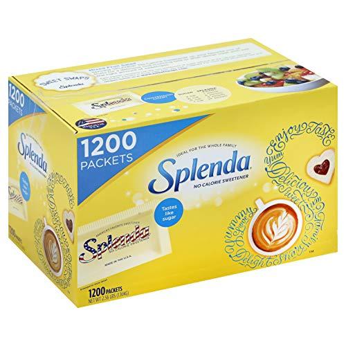 SPLENDA No Calorie Sweetener, Single-Serve Packets (1,200 Count)