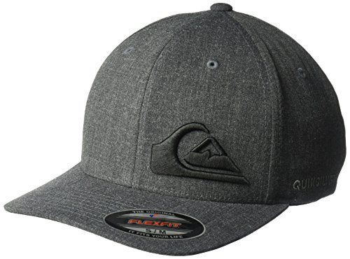 Quiksilver Men's Final Hat, Dark Charcoal Heather, Large/X-Large