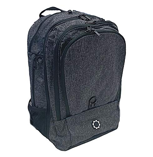 DadGear Backpack Diaper Bag (Regen Dark Charcoal) (Dadgear Bag Diaper)