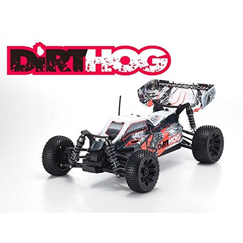 Kyosho Battery (Kyosho Dirt Hog Ready-to-Run RC 4WD Buggy Car with Team Orion Battery & Charger, Red)