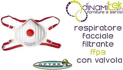 maschera facciale monouso ffp3