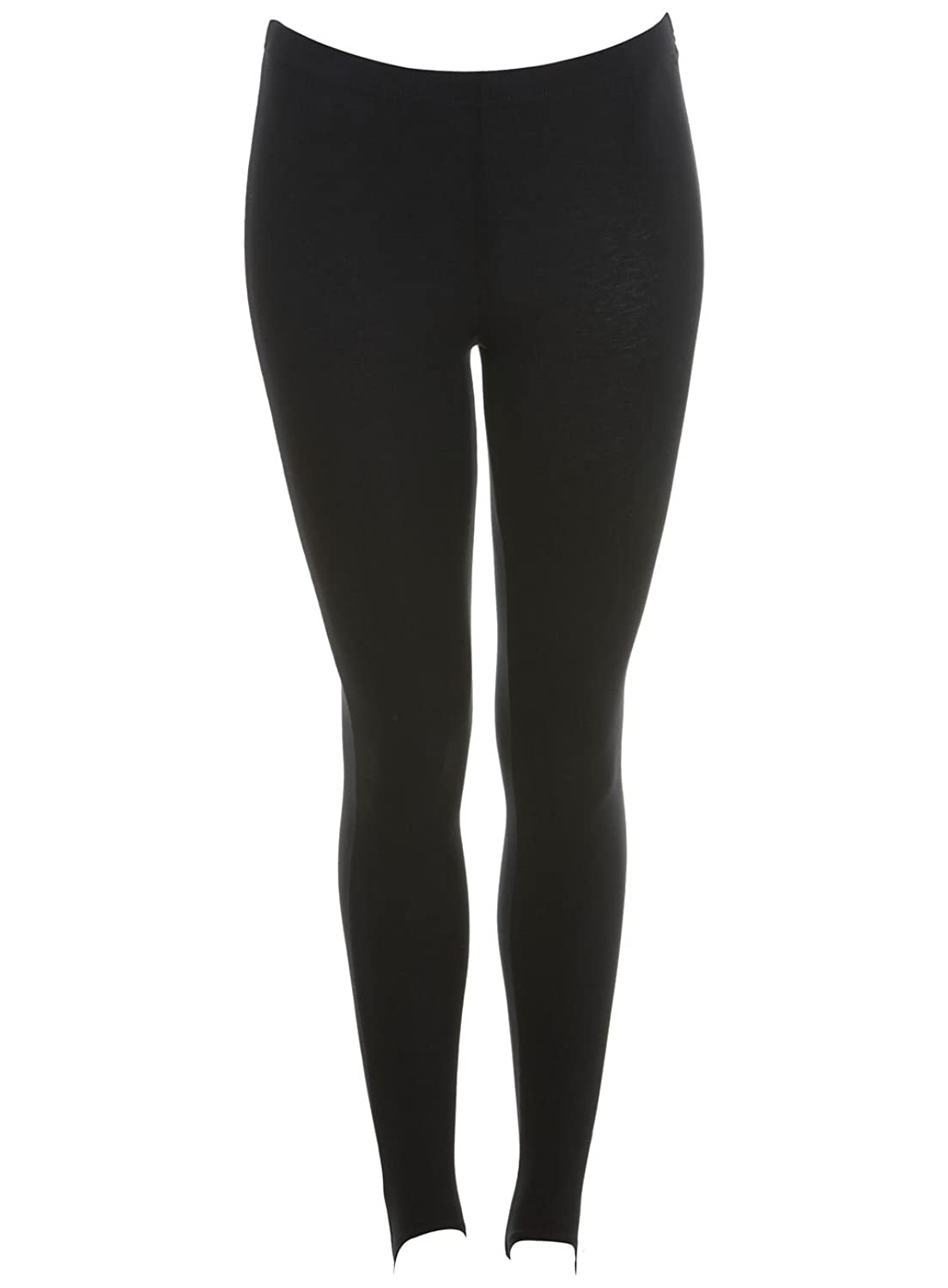 Damen Ski-Hosen Damen Steigbügel Stretch Winter Leggings by Love Lola® Schwarz