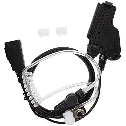 KENMAX Covert Acoustic Tube Earpiece Headset with PTT - Motorola Xts 2500 Earpiece