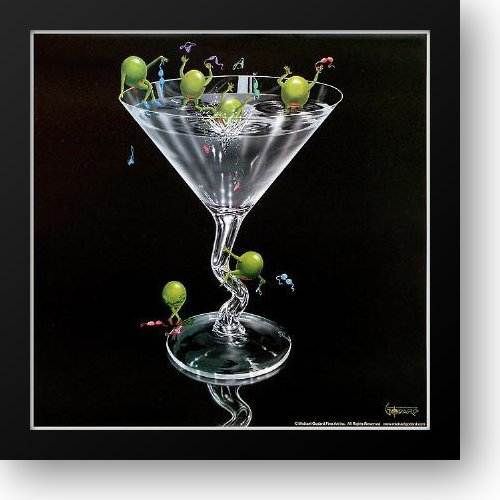 - Olives Gone Wild 16x16 Framed Art Print by Godard, Michael