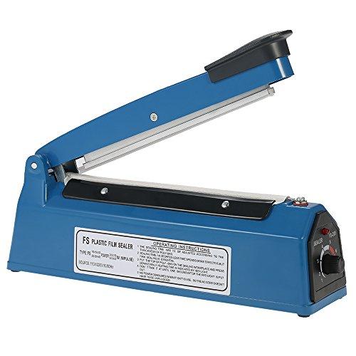 Decdeal Impulse Manual Bag Sealer Heat Seal Closer 220V 50Hz