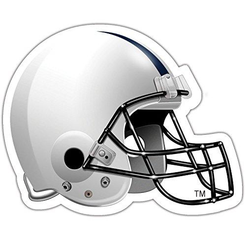 CounterArt Collegiate Set of 2 Absorbent Football Helmet Shaped Coasters, Penn State University