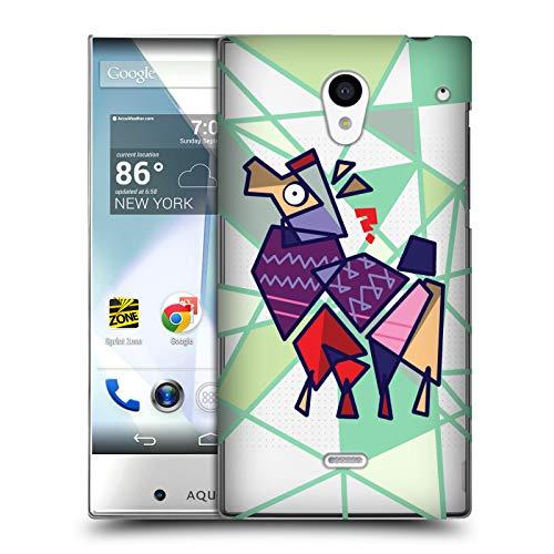 Official Grace Illustration Cubist Llama Hard Back Case for Sharp Aquos Crystal 305SH