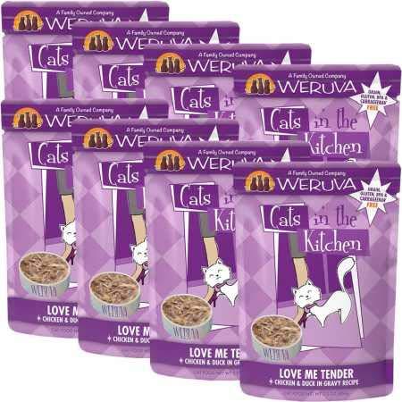 Weruva Cats in the Kitchen Love Me Tender  Cat Food Pouches 3 oz (8/box) by Weruva
