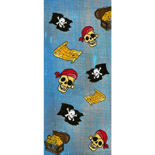 Party Bags 9-1/2X4 20/Pkg-Pirate