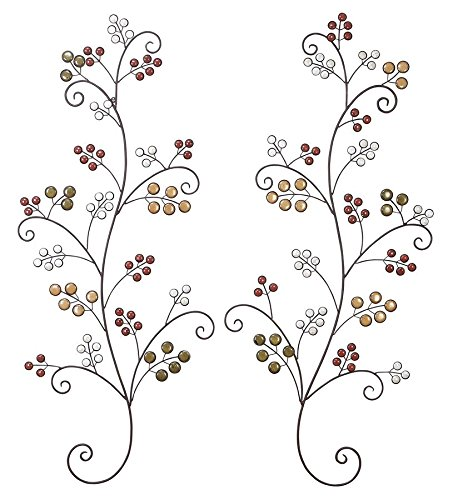 49 Wall (Deco 79 Metal Wall Decor, 49 by)