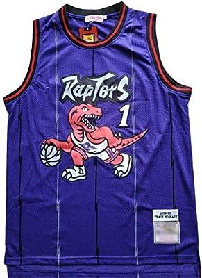 WOLFIRE WF Camiseta de Baloncesto para Hombre, NBA,Toronto Raptors ...