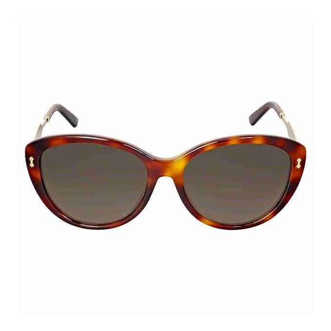 0c7d2e63c72 Gucci Asian Fit Havana Gold Cat Eye Sunglasses GG3839 F SCRXHA  Amazon.ca   Clothing   Accessories