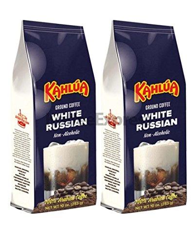 Kahlua - White Russian Gourmet Ground Coffee (2 bags/10oz each)