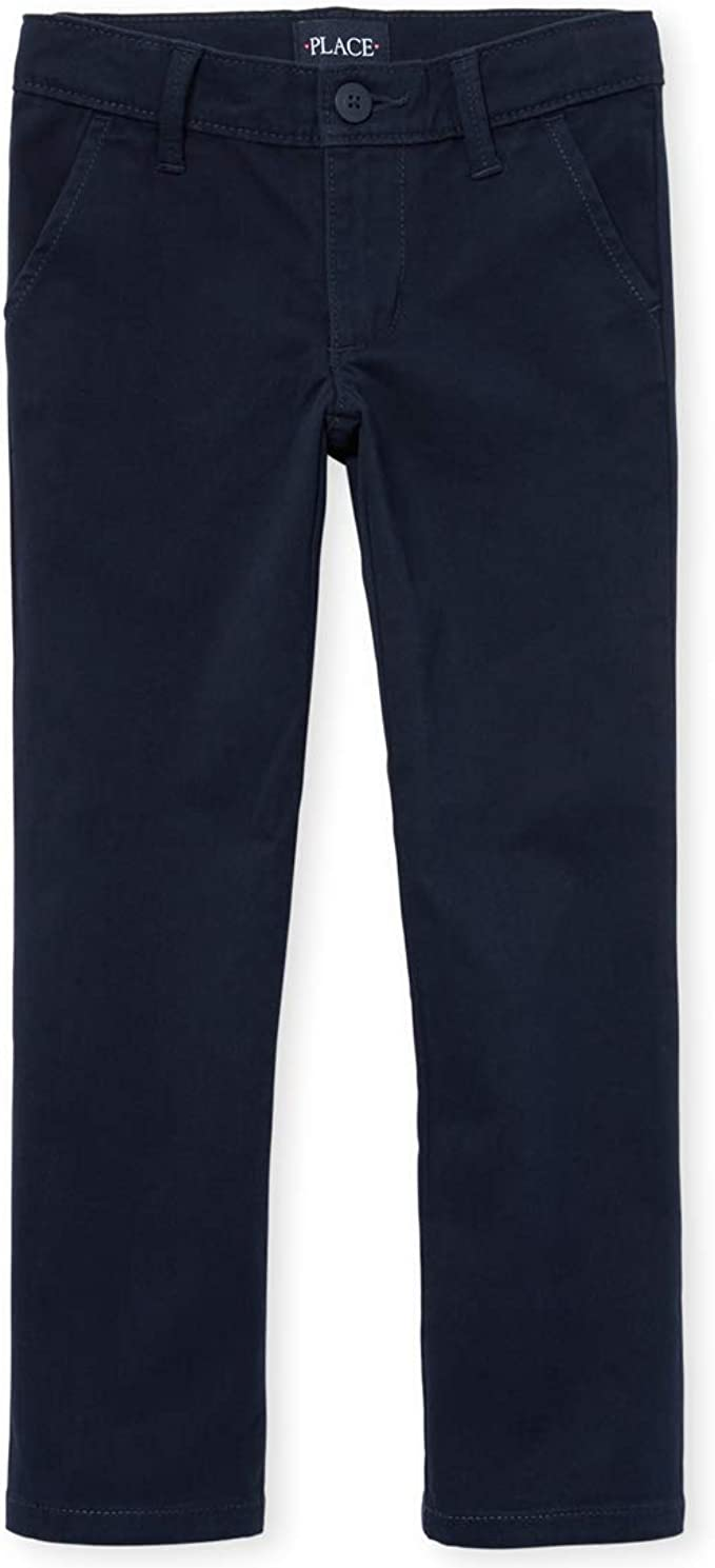 The Childrens Place Girls Slim Uniform Pant