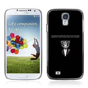 Designer Depo Hard Protection Case for Samsung Galaxy S4 / Godfather Moneky & Evolution
